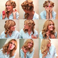 nowshine.: Hair How to: Beach Waves/ Soft Curls with no Heat
