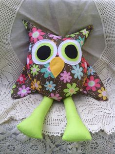 stuffed owl.