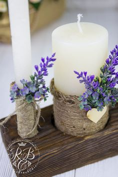 B Kerzen, Wachs Wedding Dresses Article Body: Undoubtedly, a wedding is one of the most precious and Wedding Unity Candles, Votive Candles, Unity Ceremony, Diy Wedding, Wedding Gifts, Plate Crafts, Candle Set, Candle Making, Flower Arrangements