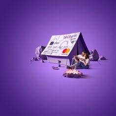 banking advertising BeoBank 2019 on Behance Creative Poster Design, Ads Creative, Creative Posters, Creative Advertising, Graphic Design Posters, Advertising Design, Graphic Design Inspiration, Street Marketing, Guerilla Marketing