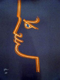 indypendent-thinking:  Jean Cocteau, 1958  (via TRAIT DE FEU (blue) by Jean Cocteau - Printed Editions)