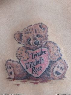 Pics Photos - Tattoo Doomain Teddy Bear Tattoos Picture