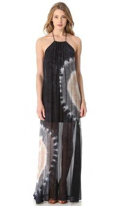 """Young Fabulous & Broke Gila Zion Wash Maxi Dress 60"""" long"""