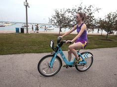 Chicago: The city has 26 miles of lakefront, which residents take to in droves once those nasty winters finally clear. Grab a Divvy bike (Chicago