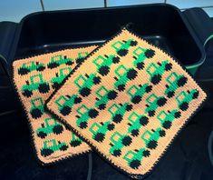 Emoji, Pot Holders, Knit Crochet, Blanket, Knitting, Inspiration, Knits, Crocheting, Kitchen