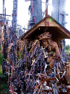 Hill of Crosses, Lithuania from All things Europe