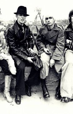 Iggy Pop & David Bowie in Berlin                                                                                                                                                                                 More