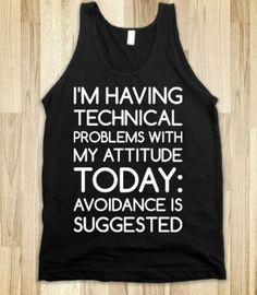 I love this, i need this shirt for when im in no mood to talk to people :(  haha  photocreds Sydney mcpeek