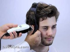 Home haircut - How to layer hair with Wahl Clippers the new simple way.