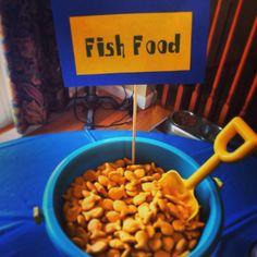 Goldfish as Fish Food - SpongeBob party