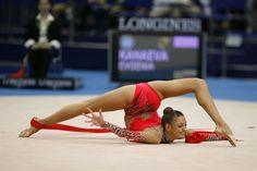 Rhythmic Gymnastics! I think it should be called Rhythmic Contortionism!