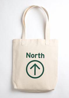 North Tote Bag on @Brika Lyga