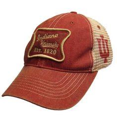 Legacy® Indiana University Est. 1820 Vintage Adjustable Mesh Hat