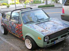 Quirky VW Rabbit #vw #mk1 #golf