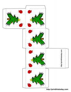Christmas box design