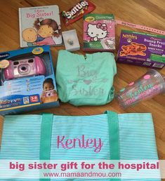 Big Sister Gift Ideas From New Baby . the Best Big Sister Gift Ideas From New Baby . 5 Gift Ideas for the New Big Brother or New Big Sister New Big Sister Gifts, Big Sister Little Sister, Big Sisters, Baby Sister, Brother Sister, Baby Boys, Baby Girl Born, Hospital Gifts, Hospital Bag