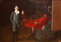 Mis hijos. 1901. Museo Sorolla, Madrid. Obra de Joaquín Sorolla