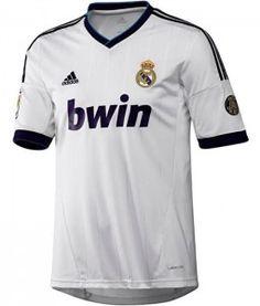 12-13시즌 레알마드리드 새 유니폼! 디자인은 저번 시즌거가 훨씬 나은듯... 창단 110주년 기념 패치가 들어간당! / Real Madrid $54.15