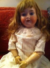29 Inch Armand Marseille Antique GERMAN Bisque Head DOLL #390 A 13 M