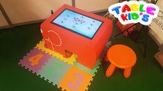 Table Kid's en situation sur notre stand au Salon PHARMAffaires ! Table Tactile, Android, Arcade Games, Kids, Young Children, Boys, Children, Boy Babies, Child