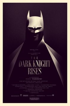 The Mondo Dark Knight Rises Poster Everyone Can Get