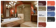 Paint colors from Chip It! by Sherwin-Williams ... a must for anyone who sees some fabulous color online and wants it too!