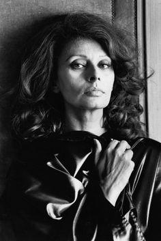 Sophia Loren by Helmut Newton