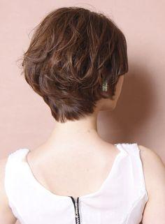 大人のスウィートショートボブ(髪型ショートヘア)
