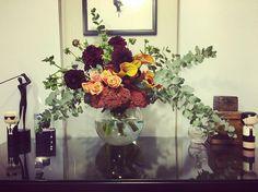 Love these  #flowerstagram #SwanValley #Ellenbrook #Aveley #HenleyBrook #Guildford #posy #bouquet #flowers #perth #autumn #roses #dahlias #sedum by posyinthevalley