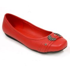 Spicy red flats