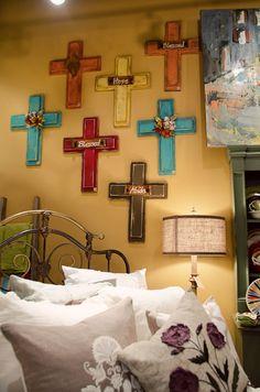 colorful crosses - Bella Vita