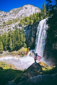 Vernal Falls in Yosemite National Park- check out one of the best hikes in America!