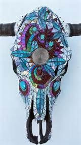 beaded cow skull - Yahoo Image Search Results