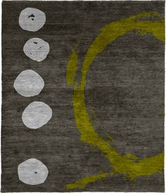 Coalesce A Hand Knotted Tibetan Rug from the Tibetan Rugs 1 collection at Modern Area Rugs