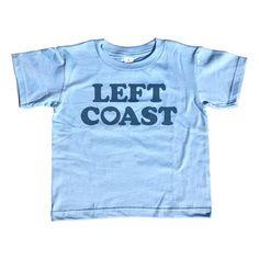 Boy's Left Coast T-Shirt - Cute Retro Style California Oregon Washingon West Coast Tourism Shirt. Assorted colors; 2T - Youth Large. $25.00 from #Boredwalk, plus free U.S. shipping! Click to purchase!