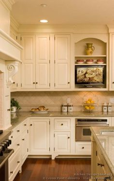 Victorian Kitchen Cabinets #31 (Crown Point.com, Kitchen Design