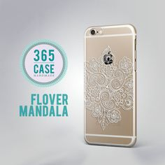 Clear iPhone Case Flower Mandala iPhone 6S Case Clear by 365case