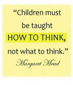 How to think students quotes on education