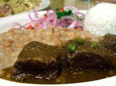 "Beans with Beef ""Seco""... a Peruvian delicious meal!!!!  Frejoles con Seco de Carne: Un platazo contundente (VIDEO)"