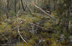 In The Woods - oil, canvas, Yuri Vasendin