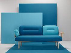 Sofá de tecido COSMO - Missana