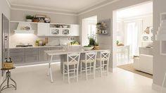 Agnese offre un ambiente cucina tradizionale, confortevole ed elegante ideale per chi ama perdersi nel fascino dei ricordi. #Lube #arredo #design #CucineLubeTorino #Cucine #Lube
