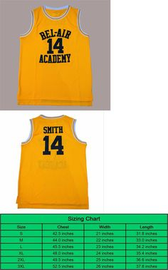 The Fresh Prince of Bel-Air Will Smith 14 Bel-Air Academy Basketball Jersey ad5ae4ca2