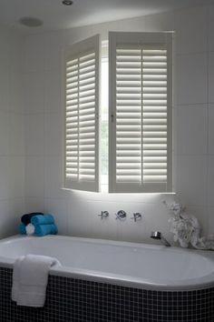 shutters in bathroom at welke.nl