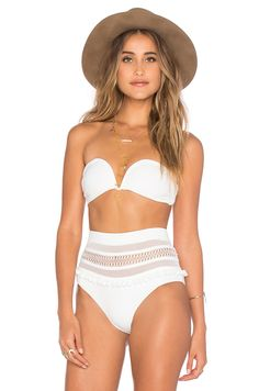 Tularosa Thessy Top in Ivory