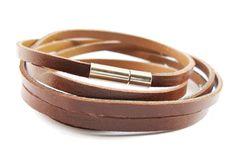 Another Cool Men's Bracelet, The Leather Multi Wrap bracelets.