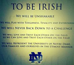 """Go Irish. Like the Irish? Be sure to check out and """"LIKE"""" my Facebook Page https://www.facebook.com/HereComestheIrish Please be sure to upload and share any personal pictures of your Notre Dame experience with your fellow Irish fans!"""