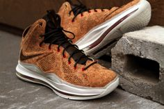 NIKE Lebron X - Cork  Yes this shoe is made with cork