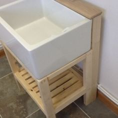 Traditional Wooden Stand For Belfast Butler Sink With Tap Ledge Only 149 99