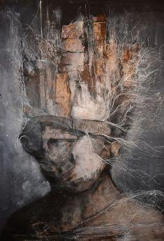 Eric Lacombe Painting - check it there's Arte Horror, Horror Art, Figure Painting, Painting & Drawing, Dark Portrait, Creepy Art, Surreal Art, Dark Art, Contemporary Art